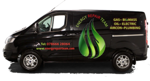 Energy Repair Team van