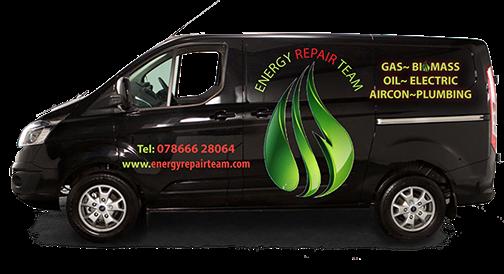 Energy Repair Team van