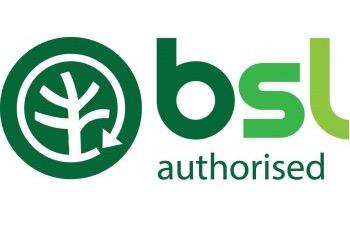 BSL authorised logo biomass scotland