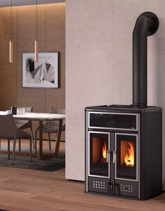 klover biomass dual stove